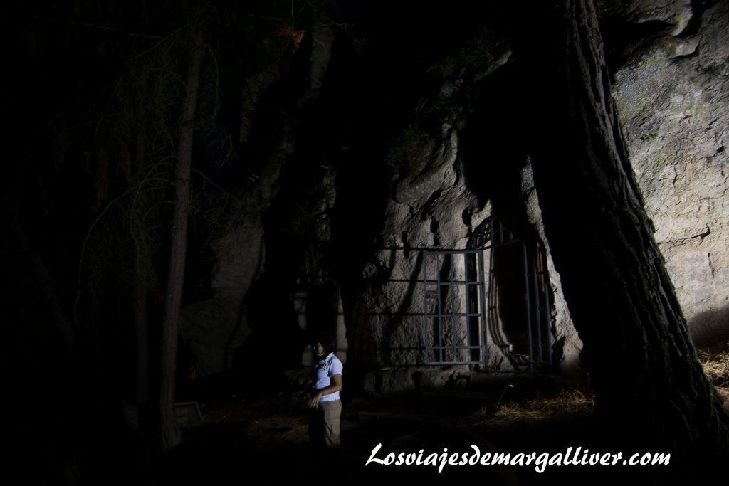Visita al tunel de la fortaleza de la mota en Alcalá la Real - Los viajes de Margalliver